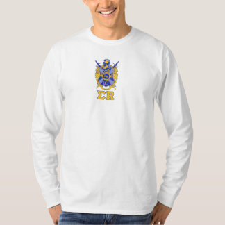 Coat of Arms with Sigma R under Long Sleeve T-Shirt