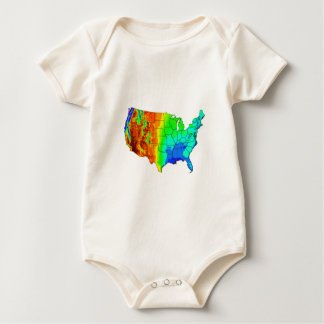 Coat of Many Colors Baby Bodysuit