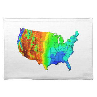 Coat of Many Colors Placemat