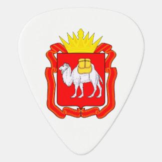 Coat of of Chelyabinsk Guitar Pick