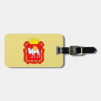 Coat of of Chelyabinsk Luggage Tag