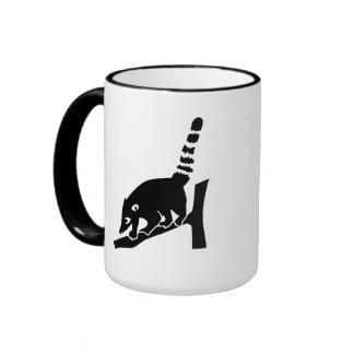 Coati Ringer Coffee Mug