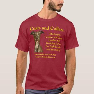 Coats and Collars, Greyhound T-Shirt