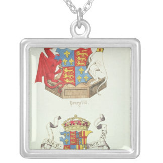 Coats of Arms of Henry VII  and Elizabeth of York Necklace