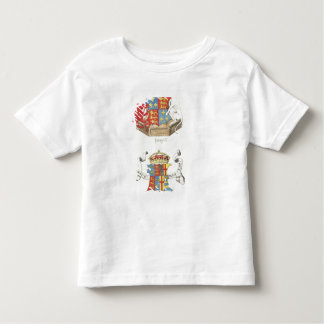 Coats of Arms of Henry VII  and Elizabeth of York Tee Shirt