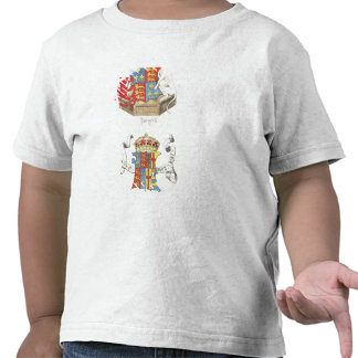 Coats of Arms of Henry VII  and Elizabeth of York T Shirts