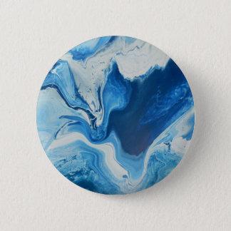 Cobalt 2 Inch Round Button