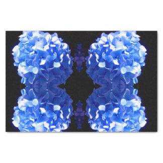 Cobalt Blue Hydrangea Tissue Paper