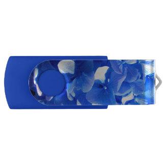 Cobalt Blue Hydrangea USB Flash Drive