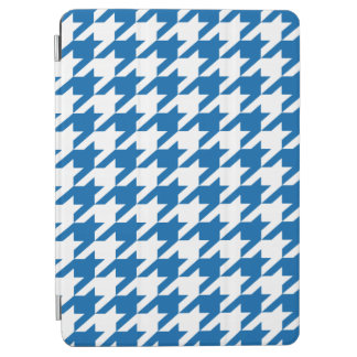 Cobalt Blue Moods Houndstooth iPad Air Cover