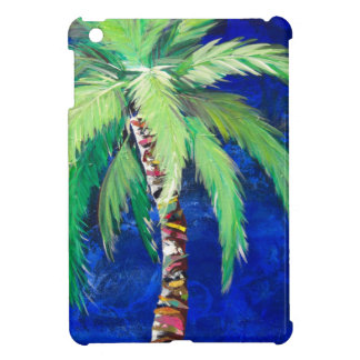 Cobalt Blue Palm II iPad Mini Covers