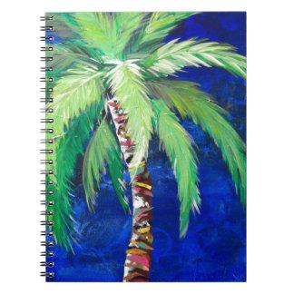 Cobalt Blue Palm II Notebooks