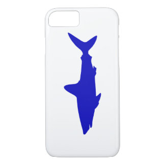 Cobalt Blue Swimming Shark iPhone 8/7 Case