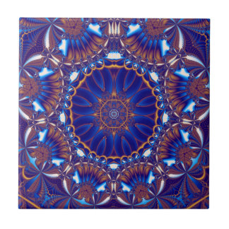 cobalt custom ceramic tile