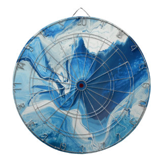 Cobalt Dartboard With Darts