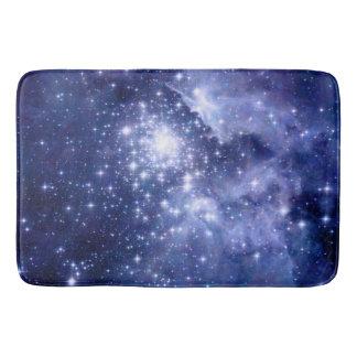 Cobalt Dreams Stars Galaxies Space Universe Nebula Bath Mat