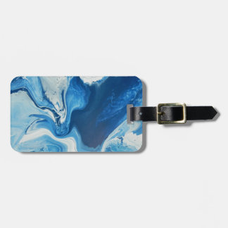 Cobalt Luggage Tag