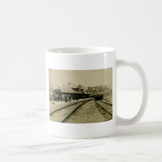 Cobalt Rail Station, Cobalt, Ontario Coffee Mug