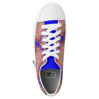 Cobaltrainbow Low-Top Sneakers