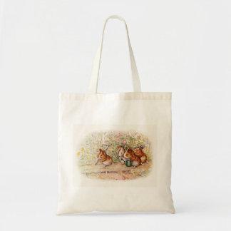 Cobayes dans le jardin sac en toile