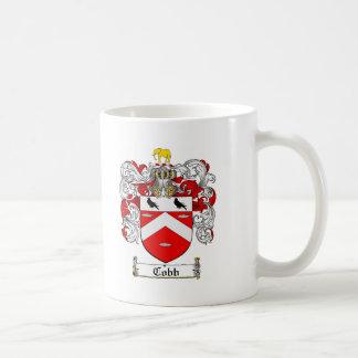 COBB FAMILY CREST -  COBB COAT OF ARMS COFFEE MUG