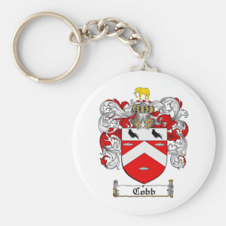 COBB FAMILY CREST -  COBB COAT OF ARMS KEYCHAIN