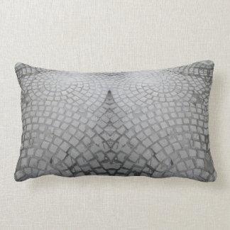 Cobblestone accent pillow