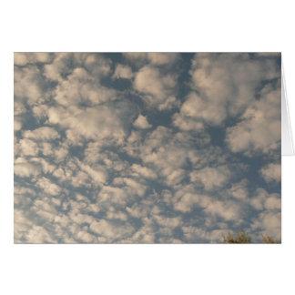 Cobblestone Clouds Card
