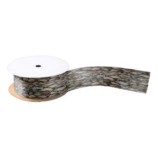 Cobblestone custom ribbon satin ribbon