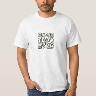 Cobblestone QR Code T-Shirt