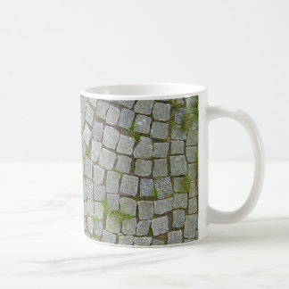 Cobblestone Road Texture Background Coffee Mug