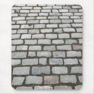 Cobblestone Stone Garden Pathway Sidewalk Photo Mouse Pad