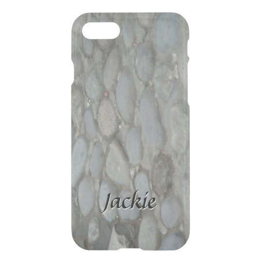 Cobblestones on an Old Street iPhone 7 Case
