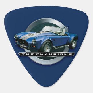 Cobra 427 blue guitar pick