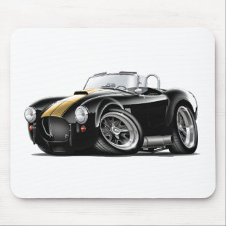 Cobra Black-Gold Car Mouse Pad
