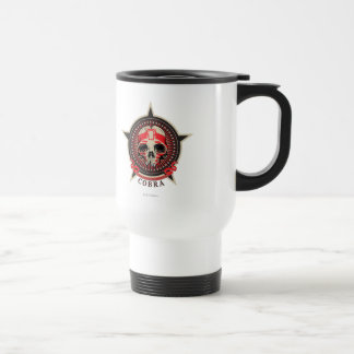 Cobra -Born to Rule, Destined to Conquer 15 Oz Stainless Steel Travel Mug