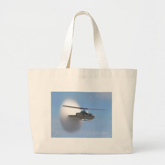 cobra helicopter large tote bag
