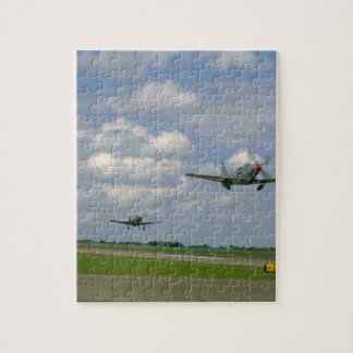 Cobra P63 And P39, Taking Off_WWII Planes Puzzles