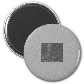 COBRA SILVER SCREEN EMBSSD. 2 INCH ROUND MAGNET