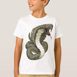 Cobra snake about to strike T-Shirt