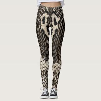 Cobra Snake Skin Printed Cool Sport Gym Women Leggings
