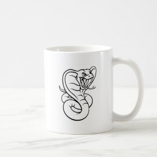 Cobra Snake Viper Mascot Coffee Mug