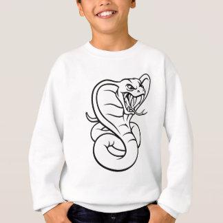 Cobra Snake Viper Mascot Sweatshirt