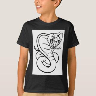 Cobra Snake Viper Mascot T-Shirt