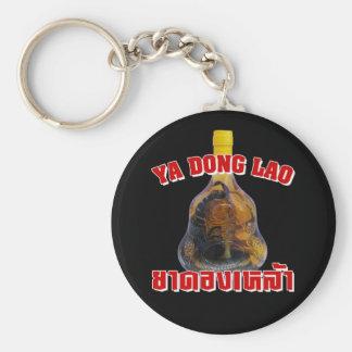 Cobra Snake Vs Scorpion Whiskey ... Yadong Lao Basic Round Button Keychain