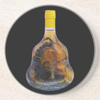 Cobra Snake Vs Scorpion Whiskey ... Yadong Lao Drink Coasters