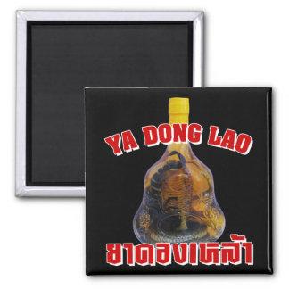 Cobra Snake Vs Scorpion Whiskey ... Yadong Lao Square Magnet