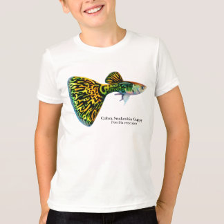 Cobra Snakeskin Guppy Kids T-Shirt