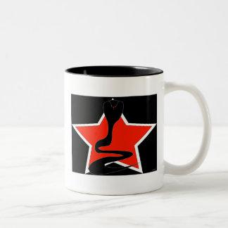 Cobra with Red Star Mug