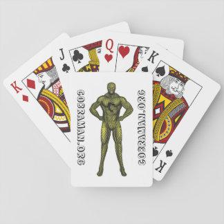 Cobraman Playing Cards